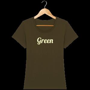 t-shirt-bio-brode-green-bottlegreen-beige_british-khaki_face